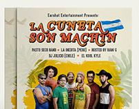 La Cuneta Son Machin/Music Concert Branding.