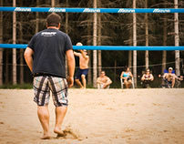 Beach Volleyball shooting