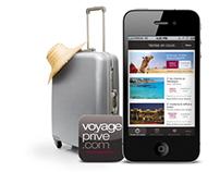 Voyage Privé iPhone