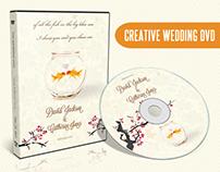 Creative Wedding DVD & Disc Label Artwork PSD