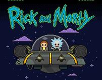 Rick and Morty - UFO
