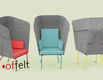 offelt  / privacy chair design