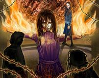"Tarot card ""The World"" - Silent Hill"