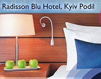 Radisson Blu  Kiev Podil,  advertising