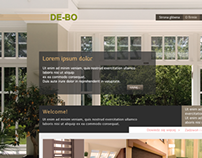 Web design for company which makes windows