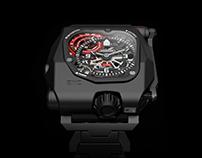URWERK EMC Time Hunter // Full CGI