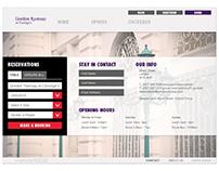 Gordon Ramsay: Claridges Digital Menu Application