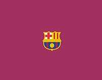 Football Minimalist Logos | Graphic design