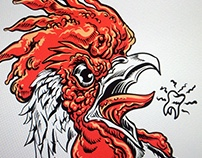 CREATIVE THURSDAY TOPIC: PROUD (ROOSTER)