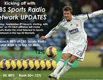 CBS Sports Radio presentation