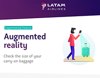 Augmented Reality for Carry-on Baggage