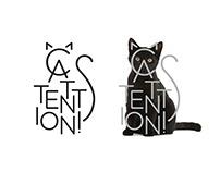 Cattention! | Logo