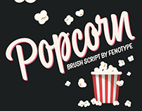 Popcorn font family