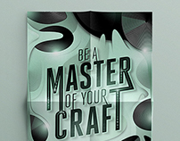 MASTER OF YOUR CRAFT / Design and Illustration