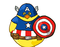 Avengers Chick Version