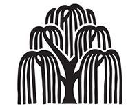 Logo design, for The Willow Tree