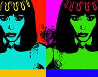 cleopatra pop art