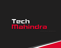 Tech Mahindra Login Page Redesign