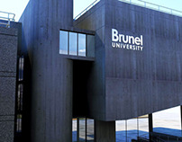 Brunel lecture centre------3d modeling and lighting