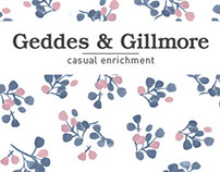PATTERN DESIGN - GEDDES AND GILLMORE