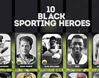 10 Black Sporting Heroes