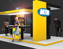 Exhibition Design: MTN / Blender 3D
