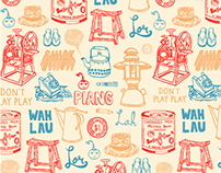 Singapore Pattern Design