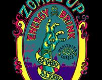 Zombie Up Logo Design