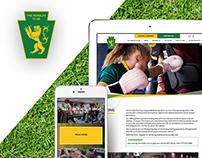 The Hunslet Club: Website Design