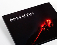 Island of Fire coffee table book