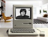 Steve Jobs - Photoshop Manipulation