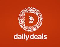 DailyDeals Logo Concept