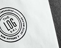 The Log branding design