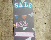 Womens' Glasses Sale Chalkboard