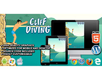 HTML5 Game: Cliff Diving