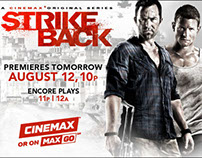 Cinemax 'Strikeback' series