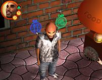 3D Avatar Coach Game Project 2 - UI & Concept Mockups