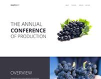Grapeshut Landing Page