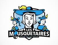 Les Mousquetaires Logotype
