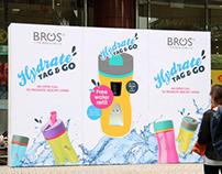Hydrate, Tag & Go Campaign