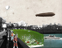 Dambovita Pavilion - Retro Futurism
