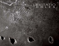 EP cover and identity design for LEVITATIO rock band