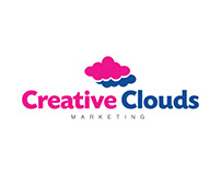 Creative Clouds Marketing Logo Design