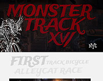 Monster Track XVI: Web Design