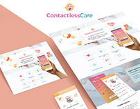 Contactless Care webdesign