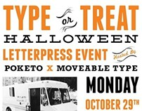 Type or Treat Event Poster