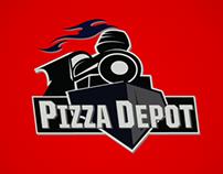 Pizza Depot Logo/Branding Project