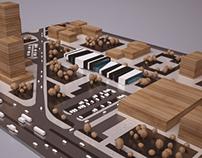 Sports facility center concept