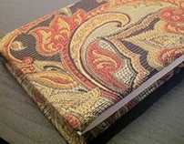 Custom hand built sketch book