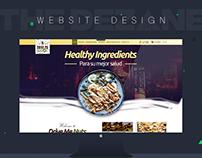 Drive Me Nuts Website Design